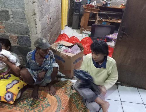 Kick Off Tahun Keadilan di Lingk. Agustinus, Solidaritas Sesama Korban Banjir