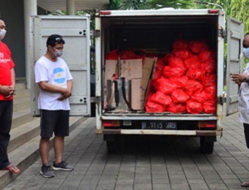 Bantuan Darurat Covid19 Paroki Pulogebang Tembus Angka 400