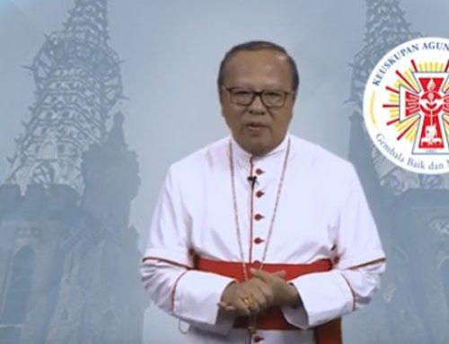 LIVE! Hari Senin 30 Maret pk. 18.00 WIB  Absolusi Umum dari Uskup Ignatius +Kardinal Suharyo