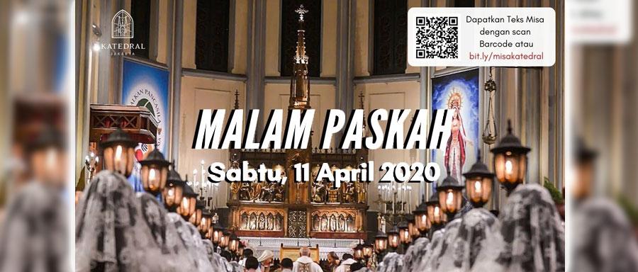 Text Misa Malam Paskah 2020 Paroki Pulo Gebang Keuskupan Agung Jakarta