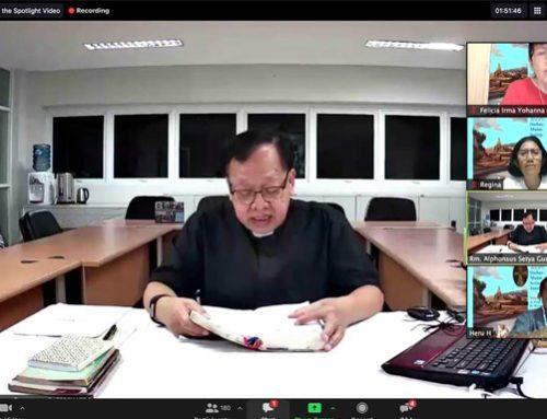 Walau Virtual, Kursus Injil Matius Ramai Peminat