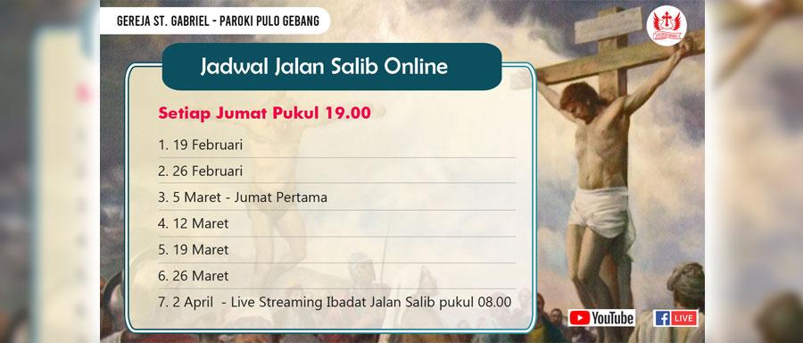 Ibadat Jalan Salib Jumat Agung 2 April 2021 Paroki Pulo Gebang Keuskupan Agung Jakarta